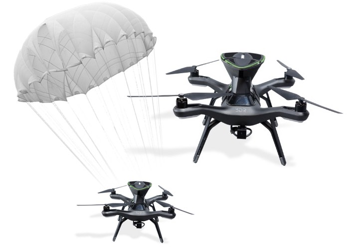 SafeAir Drone Parachute Rescue System