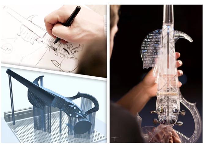 3Dvarius A 3D Printed Violin