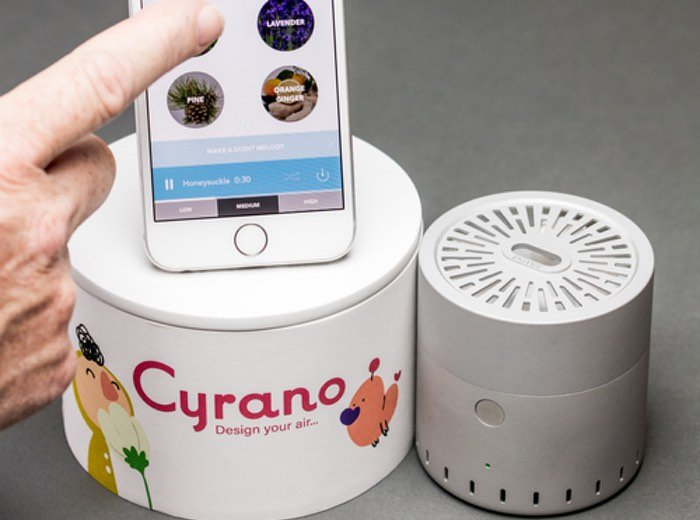 Smartphone Controlled Air Freshener