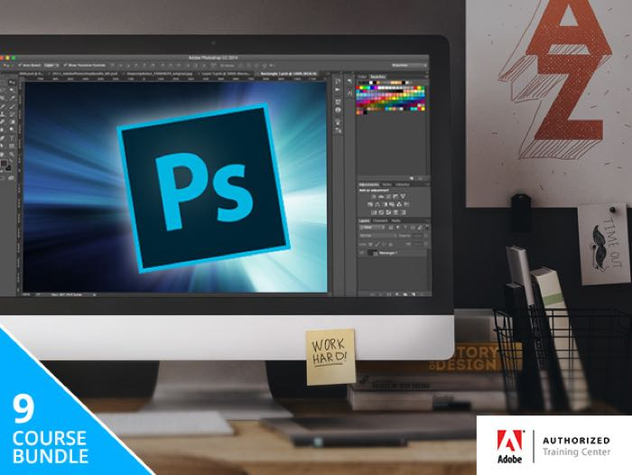 Train Simple Adobe Photoshop Bundle