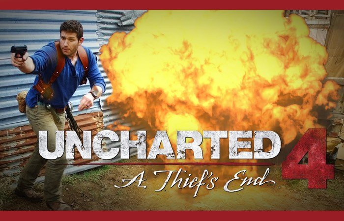 Uncharted 4 Real Life Action Short