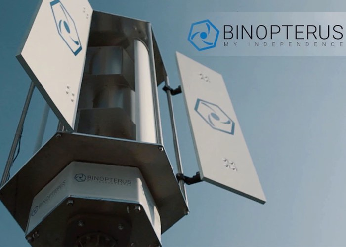 Unique Binopterus Wind Turbine