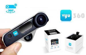 Vyu360 360 Degree Smartphone Camera Add-On (video)