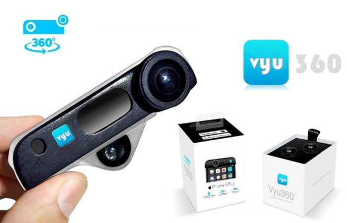 Vyu360 360 Degree Smartphone Camera