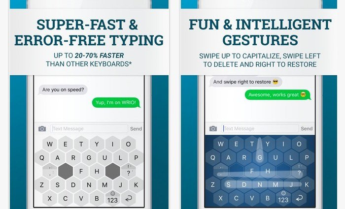 WRIO Hexagonal Keyboard Makes Typing Easier On Android And iOS Devices