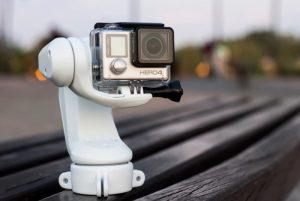 Sybrillo Waterproof GoPro Action Camera Stabiliser (video)