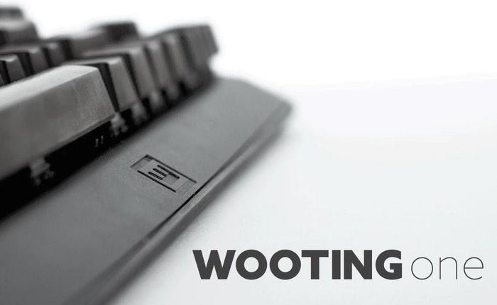 Wooting One Analog Mechanical Keyboard