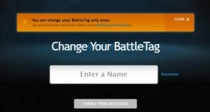 Blizzard Is Offering A Free BattleTag Change