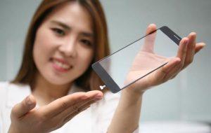 LG Develops Fingerprint Scanner Under Smartphone Display