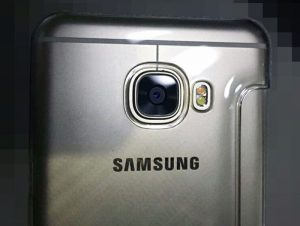 Samsung Galaxy C5 Poses For The Camera