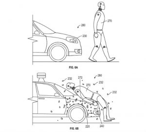 Google Patent App Shows Wild Self-Driving Car with Sticky Hood