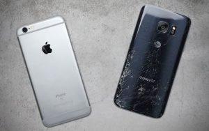 Apple iPhone 6S vs Samsung Galaxy S7 Drop Test