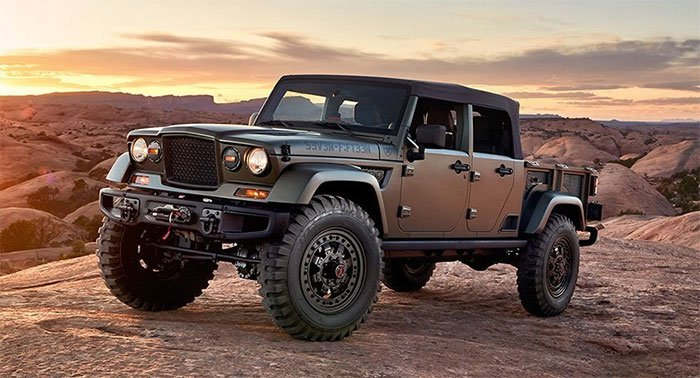 Awesome Jeep Crew Chief 714 Should Go Into Production