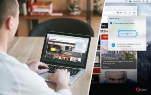 Opera Browser Gets New Power Saving Mode