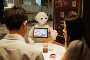 Pepper Robot Will Be A Digital Waiter At Pizza Hut (Video)