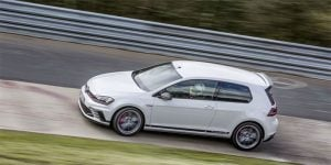 VW GTI Clubsport S Dominates Nurburgring FWD Track Record