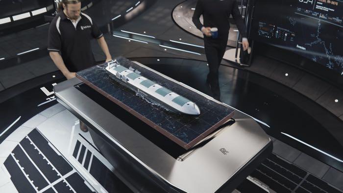 Rolls Royce Robotic Ship