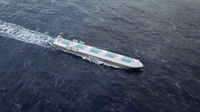 Rolls Royce Robotic Ship