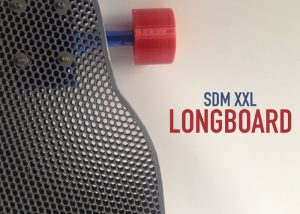 3D Printed Longboard XXL Available on Thingiverse (video)