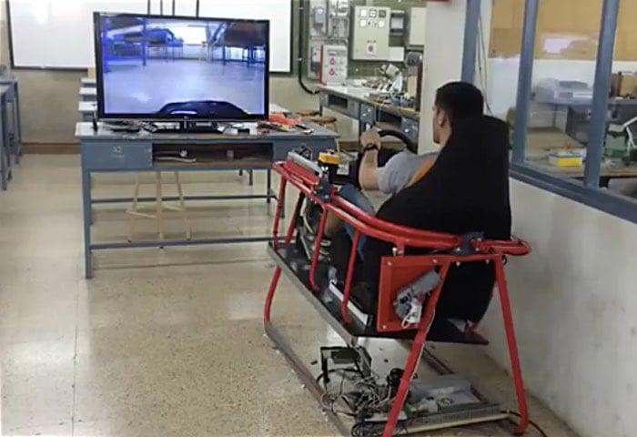 Arduino Car Simulator Lets Yo Sit Behind The Wheel Of A Toy Car