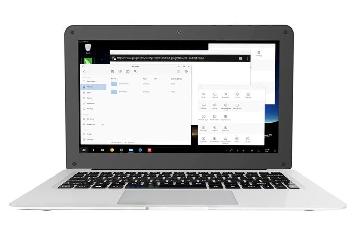 Aspen Hybrx Android Laptop