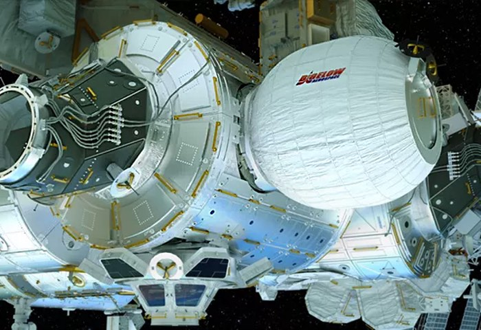Astronauts Enter BEAM Expanding ISS Module