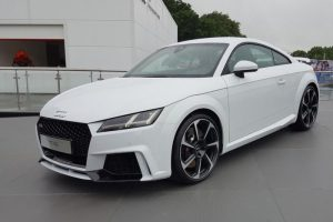 New Audi TT RS Appears At Goodwood