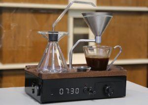 The Barisieur Designer Coffee And Tea Alarm Clock Hits Kickstarter (video)