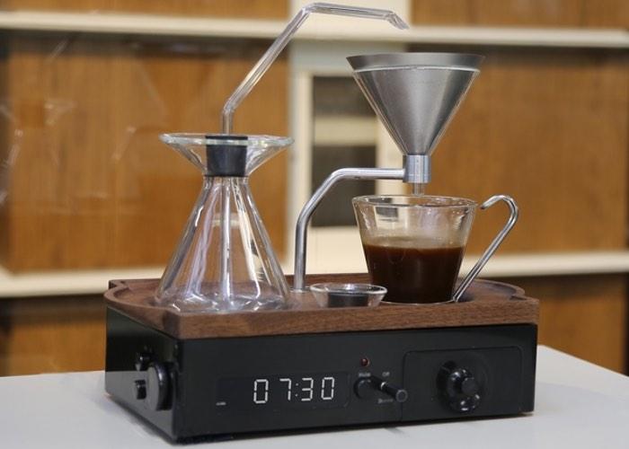 The Barisieur Designer Coffee And Tea Alarm Clock Hits Kickstarter (video) - Geeky Gadgets