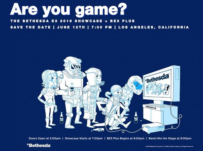 Bethesda E3 2016 Showcase