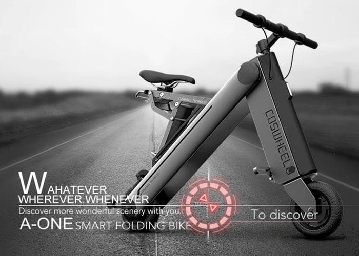 COSWHEEL Smart Folding Electric Bike