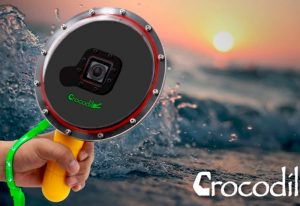 Crocodile GoPro Mount Lets You Easily Photograph Below And Above the Water Line