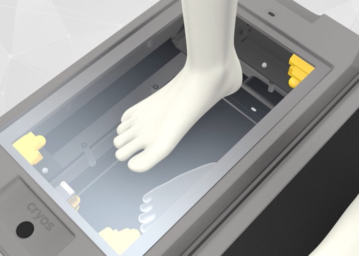CryoScan3D Foot Scanner