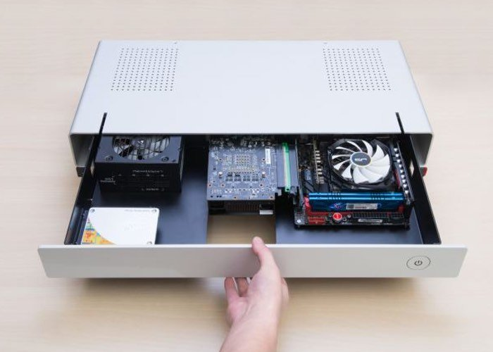 Cryorig Taku Flat Desktop PC Case