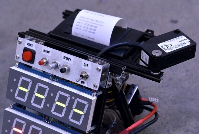 DIY Arduino Flying Start Lap Timer