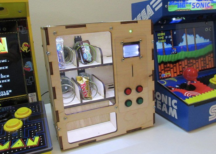 DIY Arduino Vending Machine