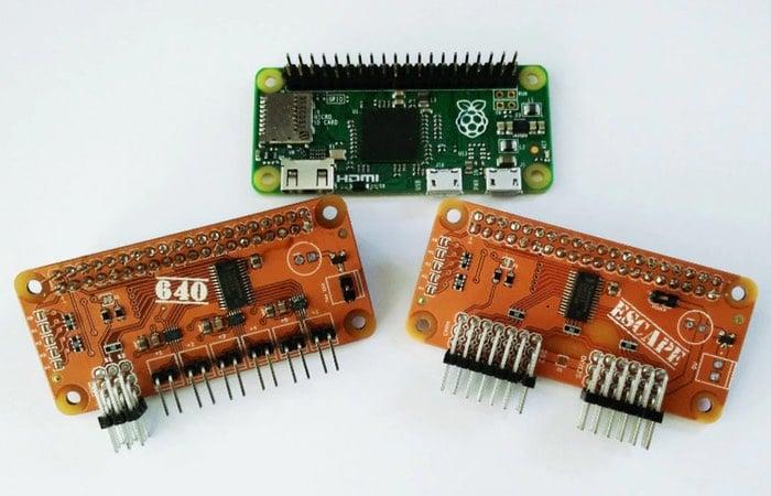 Dark Control Raspberry Pi Zero Robot Controllers