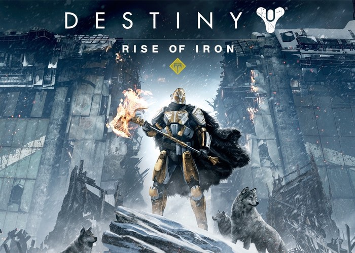 Destiny Rise of Iron Expansion