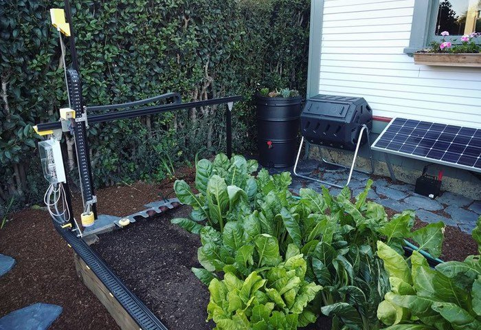 FarmBot Open Source CNC Farming Robot