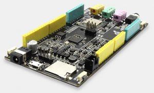 Fireduino Dual-core Arduino Development Board (video)
