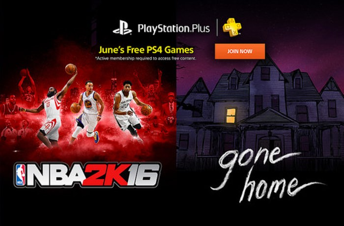 PlayStation Plus Games Announced For June 2016