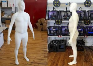Full Size 3D Printed Body Copy Of Yourself Now Available For $3,000 (video)