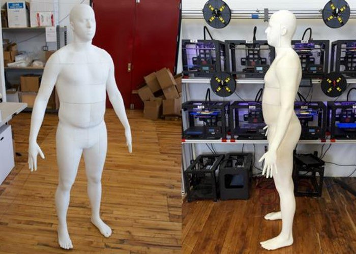 Full Size 3D Printed Body-1