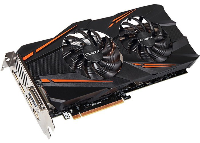 GIGABYTE GeForce GTX 1070 WindForce 2X Graphics Card