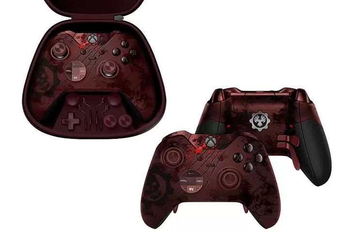xbox elite wireless controller gears of war 4 limited