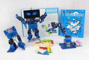 IronBot 3-in-1 Educational Robot Kit (video)
