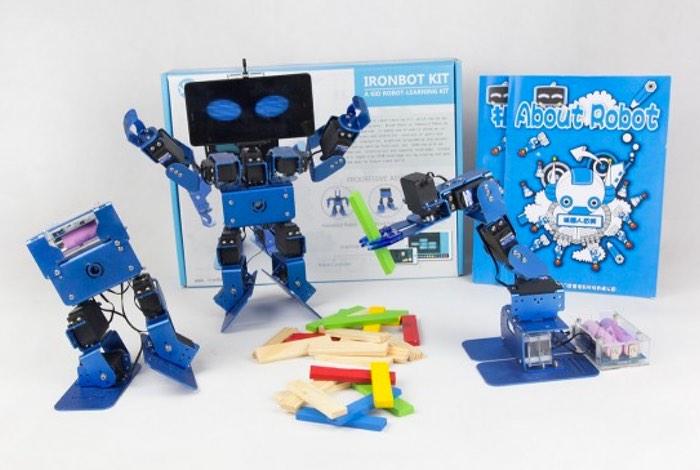 IronBot 3-in-1 Educational Robot Kit
