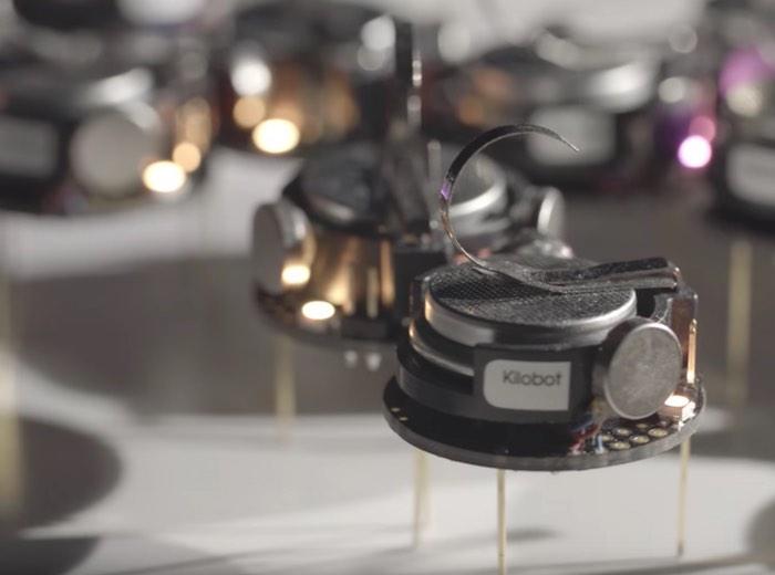 Kilobot Swarming Robots