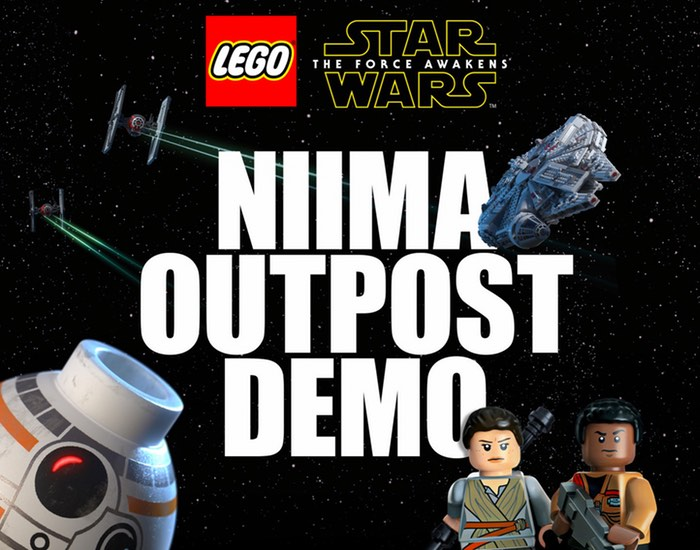 LEGO Star Wars The Force Awakens Demo