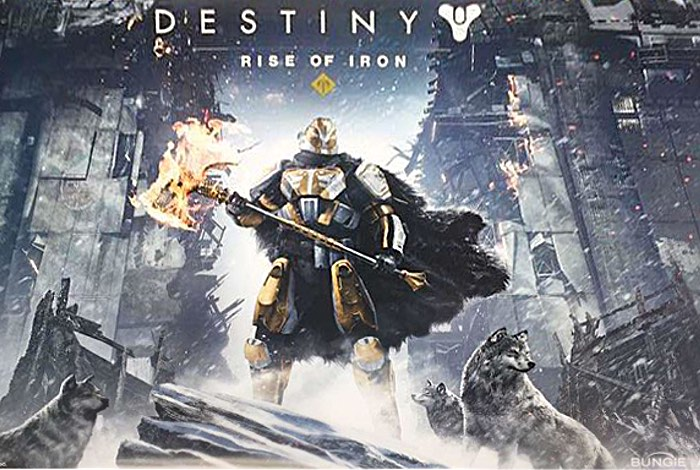 Leaked Destiny Rise Of Iron Trailer